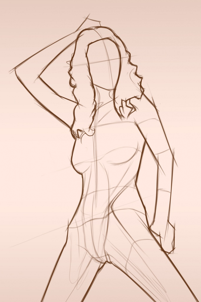 female form sketch