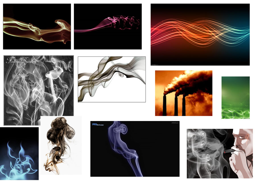 smoke sculpture inspiration