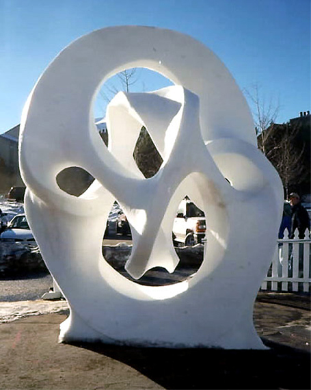 snow sculpture 3