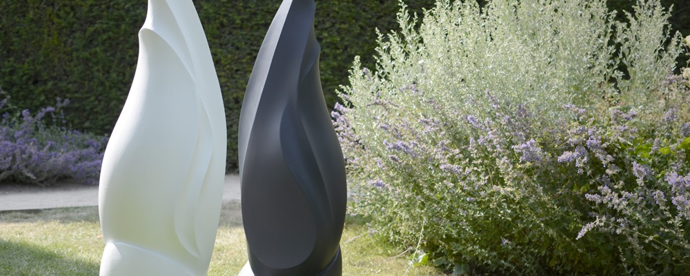 Flame Modern Garden Sculpture @ Coughton Court