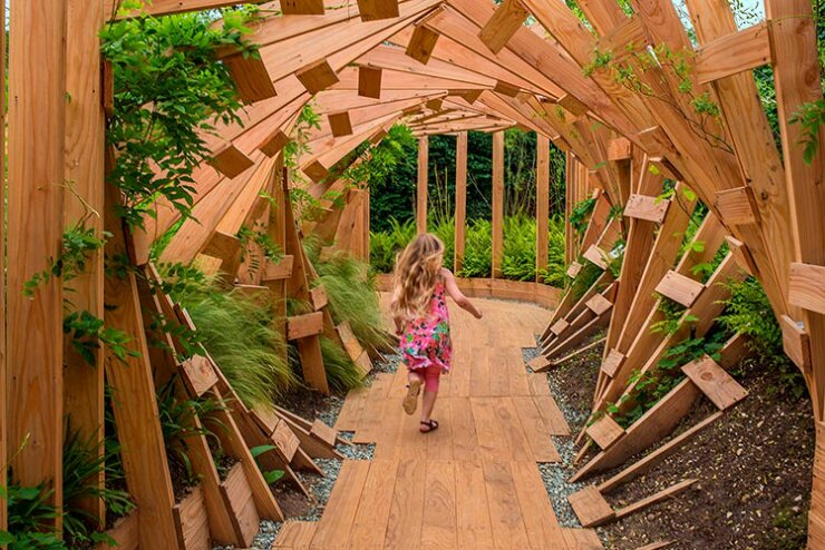 The international garden festival award winning for Garden design fest 2014