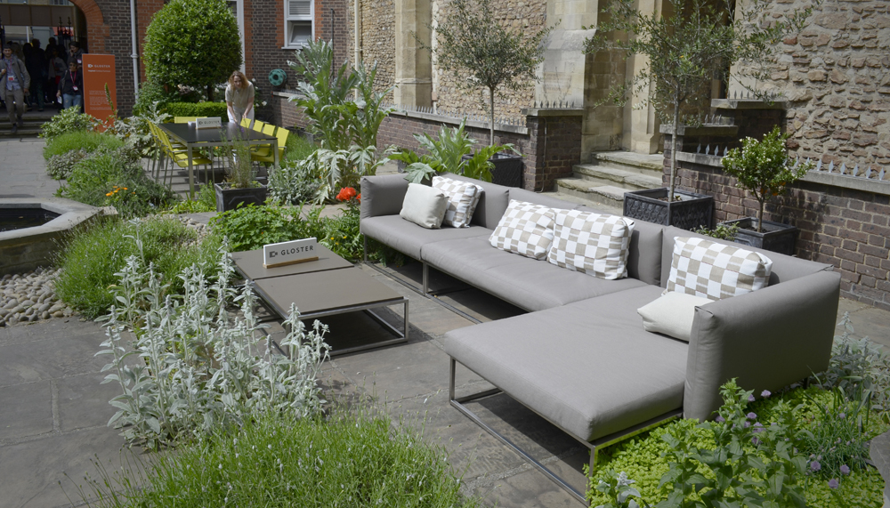 Gloster outdoor sofa clerkenwell 1000
