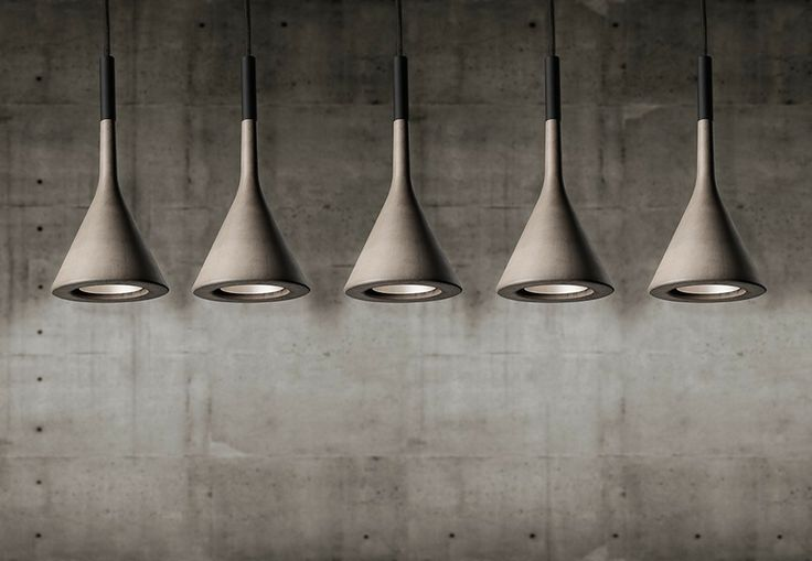foscarini lamp shade in concrete
