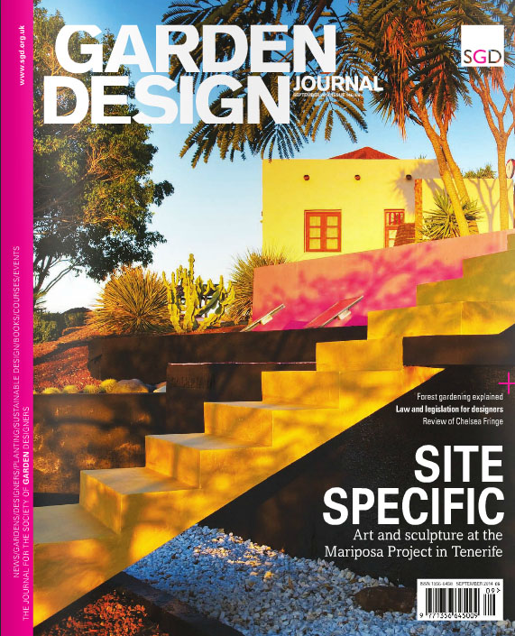 Adam Christopher Appearance in Garden Design Journal