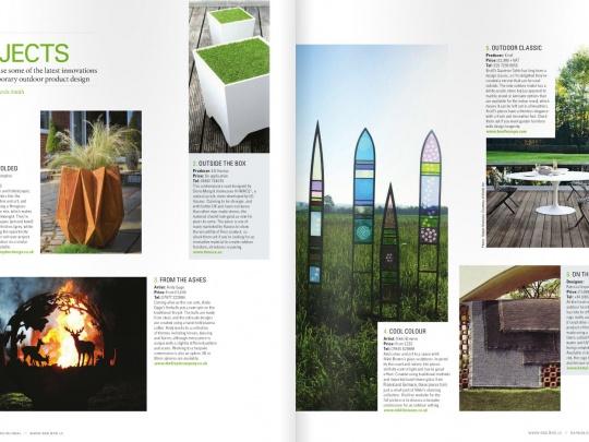 Adam Christopher Appearance In Garden Design Journal