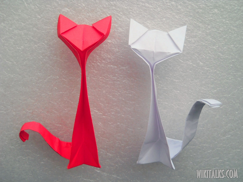 Origami animals great inspiration for my geometric flower for How to make a paper design