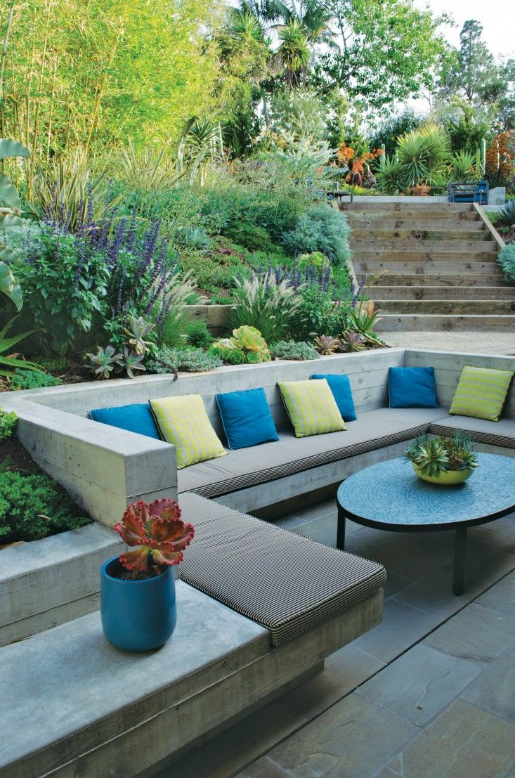 Garden furniture inspiration for Garden sit out designs