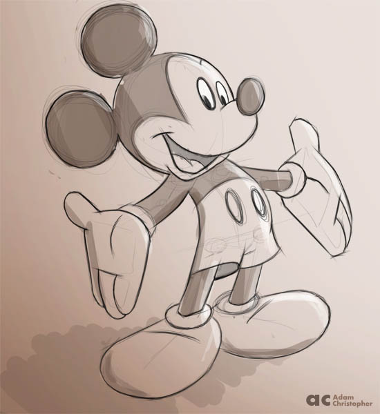 mickey mouse 600px