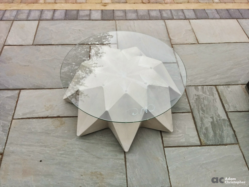 AC Outdoor concrete coffee table (3)