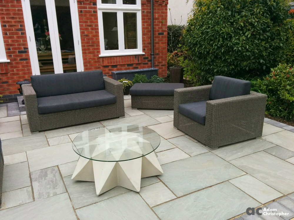 AC Outdoor concrete coffee table