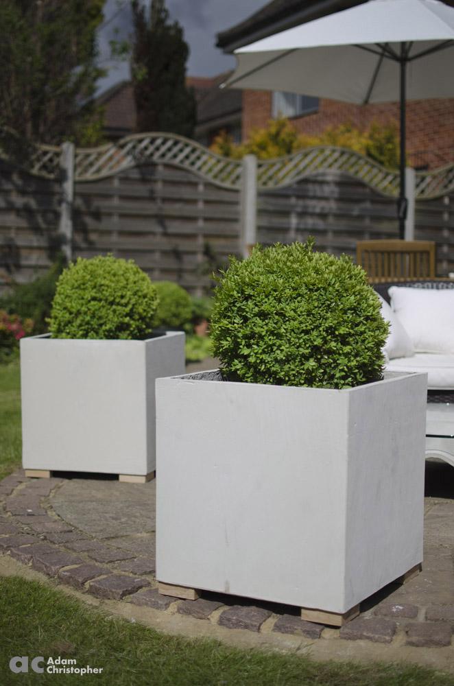AC flower pots cube 50 (5) 1000 logo