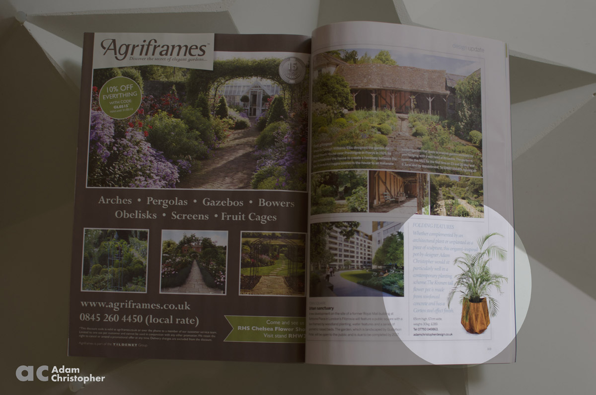 Gardens illustrated Adam Christopher flower pot feature page 1200px