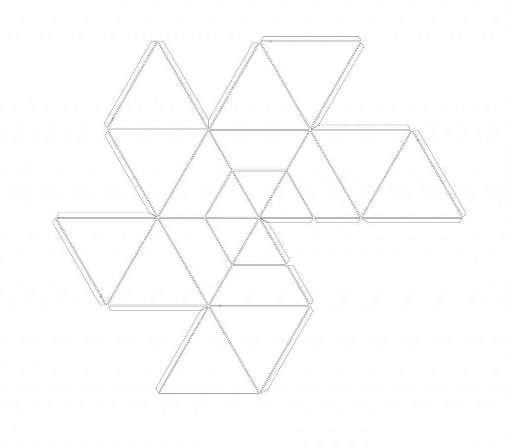femkant net for mould