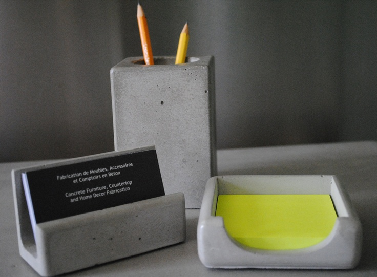 concrete stationary holders