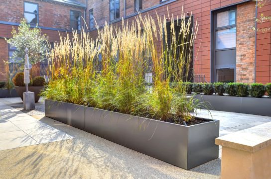 7 Metal Planters Award Winning Contemporary Concrete