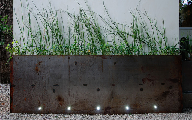 box trough architectural planter