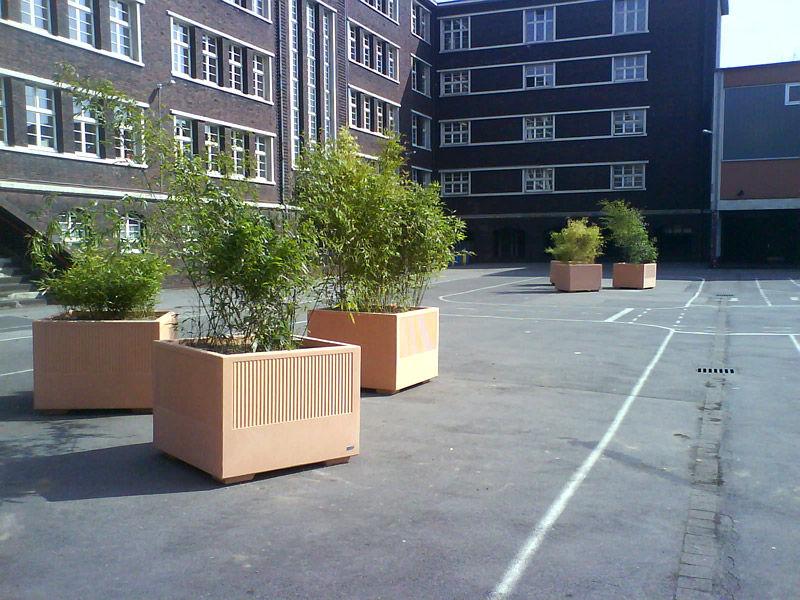 orange box planters
