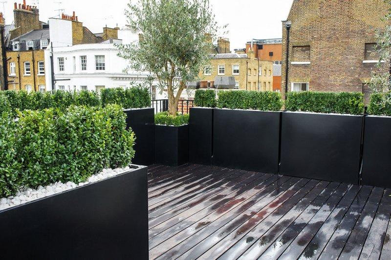 Tessalating rectangular planters