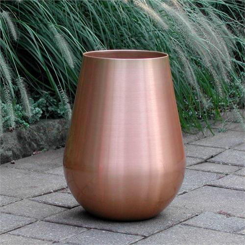 copper urn planter
