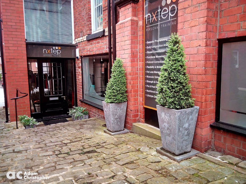 tapered stone planters 1000