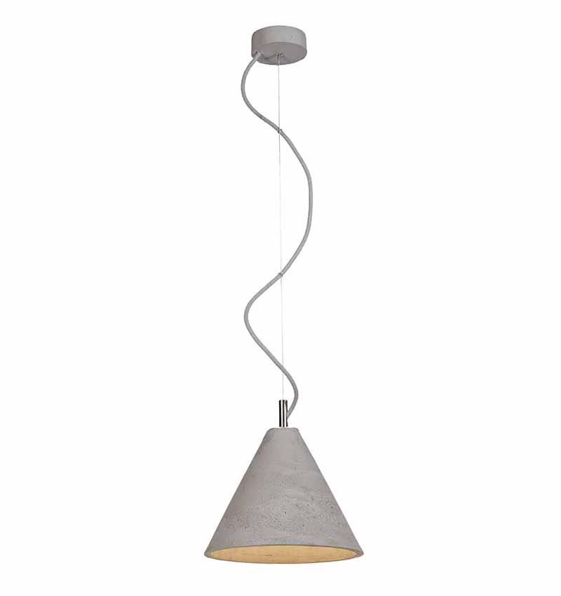 Kobe 3 concrete lamp by living concrete