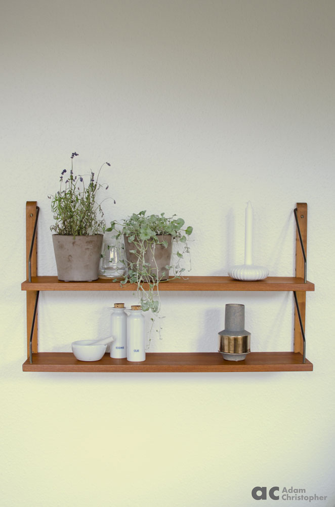shelves with flower pots logo 1000