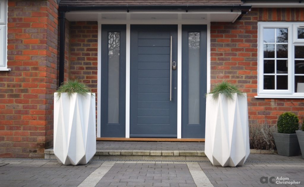 7 Doorways With Planters Award Winning Contemporary Concrete